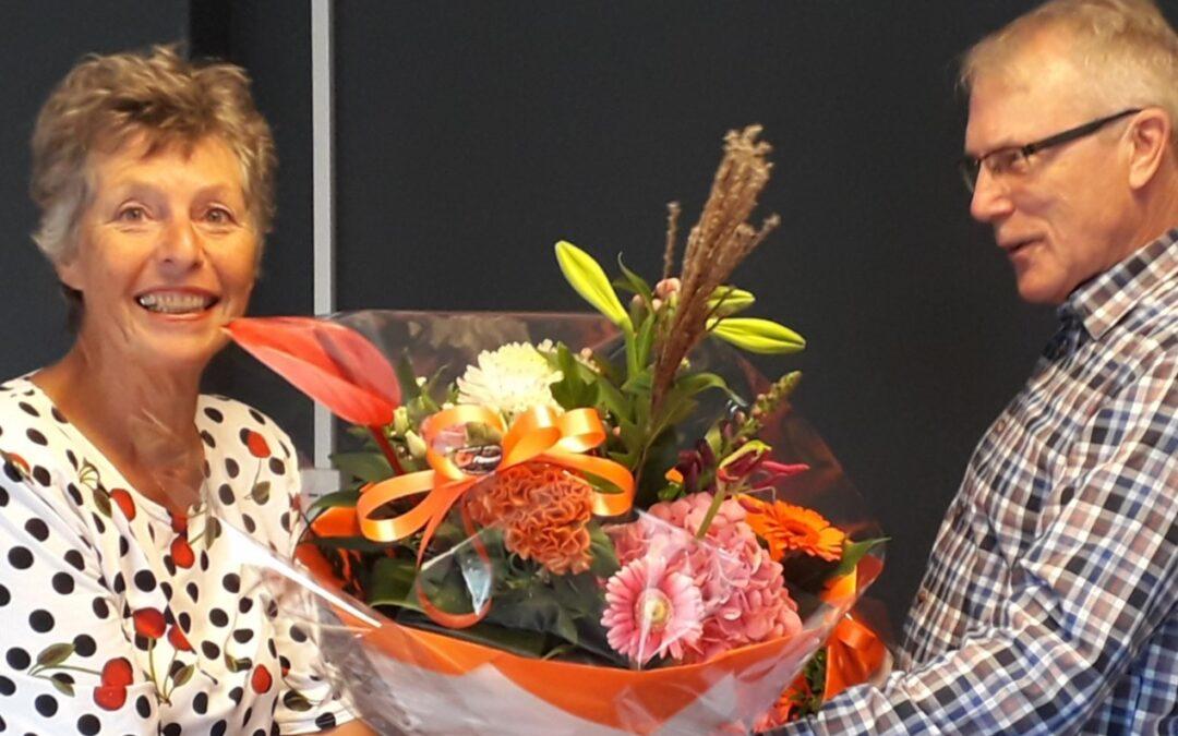 Aafke neemt afscheid als secretaris
