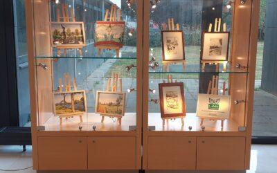 Expositie Aquarelgroep in stadhuis