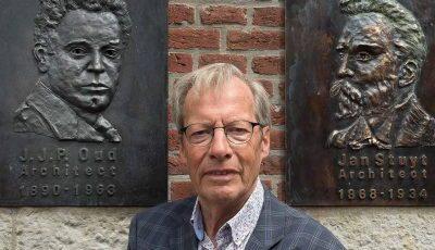 Onthulling plaquette Jan Stuyt