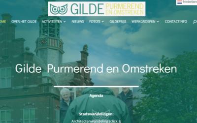 Nieuwe site Gilde Purmerend